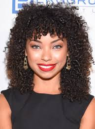 logan browning curly hair moments essence com