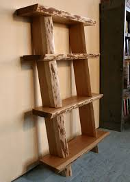 Wood Shelf Plans by 22 Best Natural Live Edge Shelving Images On Pinterest Shelving