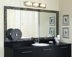 how to frame a bathroom mirror with clips mirror frame bathroom juracka info