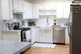 tile backsplashes for kitchens remodelaholic kitchen mini makeover with affordable tiled diy
