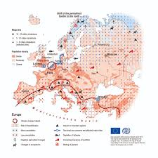 Mediterranean Climate Map Maps Environmental Migration Portal