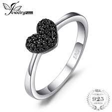 rings love heart images Love heart rings for women 100 925 sterling silver wedding gifts jpg