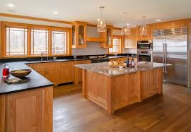 ceramic tile countertops arts and crafts kitchen cabinets lighting