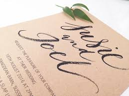 Calligraphy Wedding Invitations How To Use Brush Calligraphy In Your Wedding Invitations U2013 By Moon