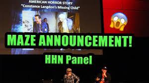 halloween horror nights ticket prices maze announcement halloween horror nights panel at monsterpalooza