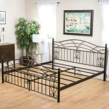 beds iron bed king wrought frame beds black patio furniture