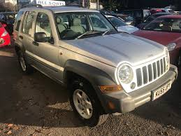 jeep liberty 2001 used jeep cherokee cars for sale motors co uk