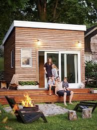 Backyard Cabin by A Diy 168 Sq Ft Backyard Studio Tiny House Town
