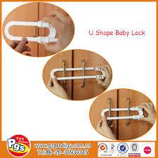 kitchen cabinet lock sliding door child lock combination lock
