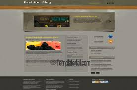grey css brown grey fashion css template download
