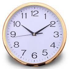 wall watch cheap plastic wall clock wholesale round shape factory quartz watch