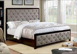bedroom awesome leather headboard queen grey and white headboard