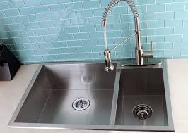 Top Mount Kitchen Sinks Double Bowl Stainless Steel Kitchen Sink Top Mount Nytexas