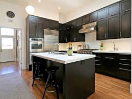 kitchen with dark cabinets lighting simple effective ideas for