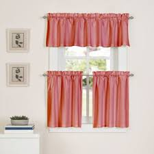 Coral Valance Curtains Buy Coral Curtain Valance From Bed Bath U0026 Beyond