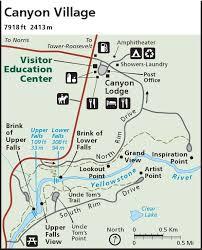 grand map lodging yellowstone maps npmaps just free maps period