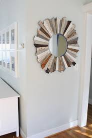 make all things new wood sunburst mirror simple stylings