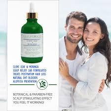 Natural Hair Growth Treatments Stop Hair Loss Clove Leaf U0026 Moringa Scalp Relief Hair Growth