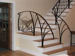 Metal Stair Banister Metal Stair Railings Eva Furniture