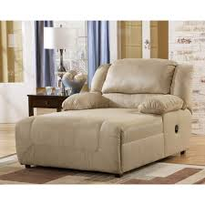 Indoor Chaise Lounge Indoor Oversized Chaise Lounge Khaki Press Back Chaise