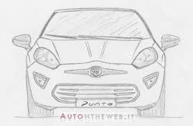 2015 fiat punto speculative free hand sketches renders