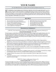 15 accounts payable resume sample free resu saneme