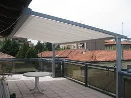 Glass Pergola Roof by Exterior Handsome Outdoor Living Space Design Ideas With White