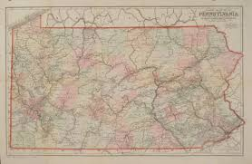 Pennsylvania Railroad Map by Antique Maps Of Pennsylvania Page 2