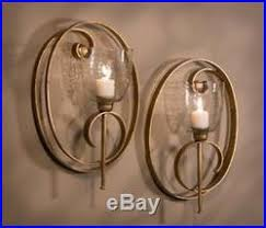 Gold Wall Sconce Candle Holder New Modern Large 19 Scroll Hand Forge Gold Iron Candle Holder Wall