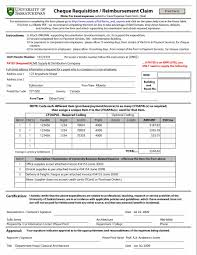Example Of An Expense Report by U Of S Financial Services Division Guidelines U0026 Procedures