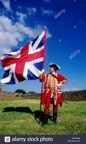 Union Army Flag British Soldier Pulteney U0027s 13th Regiment 1745 Union Jack Flag
