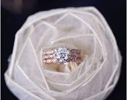 Rose Gold Wedding Ring Sets by Ring Rose Gold Engagement Ring Wonderful Rose Gold Pearl Ring