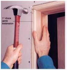 Prehung Interior Door Installation Installing A Prehung Interior Door Home Carpentry
