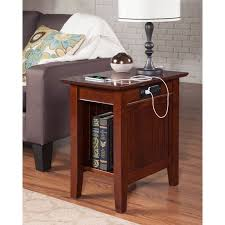 Bedside Table With Lamp Attached Best 25 End Table With Lamp Ideas On Pinterest Side Tables