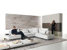 Chrome Furniture Legs by Charming L Shaped Sofa Come With White Modern Sofa Combining White