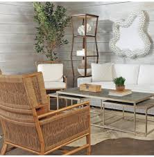 mansfield hollywood regency faux shagreen nesting coffee tables