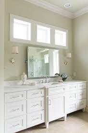 bathroom awning window bathroom farmhouse with large pivot mirror