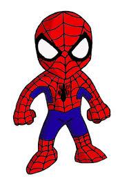 spider man clipart cute pencil color spider man clipart cute