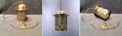 arts and crafts pendant lighting antique arts and crafts brass electric hall lantern hl442 jpg