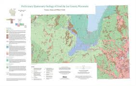 Wisconsin Lake Maps by Wisconsin Geological U0026 Natural History Survey New Publications