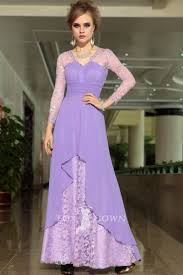 lavender dresses with sleeves ideas for ladies u2013 designers