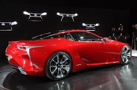nuevo lexus lf lc salón de detroit 2012 lexus lf lc concept lista de carros