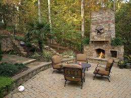 Outdoor Fireplace Patio Stone Patio Fireplace Outdoor Stone Fireplace And Stone Pathway