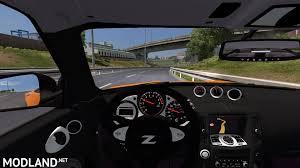 nissan 370z interior mods nissan 370z v 1 0 mod for ets 2