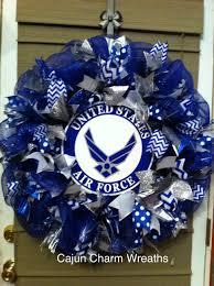 us air force ribbon wreath home inspiration pinterest air