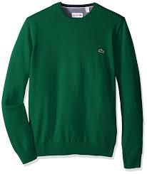 Lacoste Bathroom Accessories by Lacoste Men U0027s Seg 1 Cotton Jersey Crewneck Sweater Ah0352 51 At
