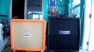 orange 4x12 vs mesa 4x12 vintage 30 u0027s sound test youtube