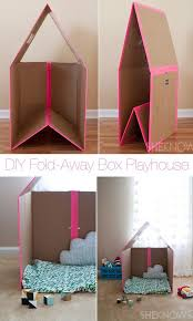 Diy Cardboard Furniture Plans Free by Best 25 Cardboard Playhouse Ideas On Pinterest Cardboard Box