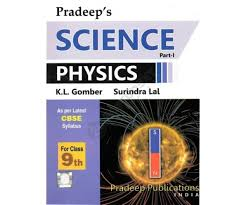 pradeep u0027s science physics part 1 for class 9 cbse 2016 edition