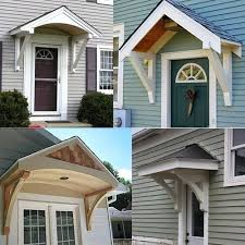 Porch Awnings Builiding A Portico Front Door Porch Awnings Pictures Front Porch